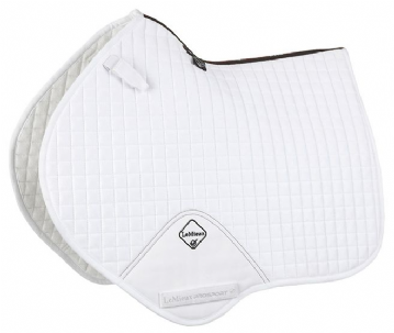 3. LEMIEUX PROSPORT CC/JUMP SADLE CLOTH - WHITE